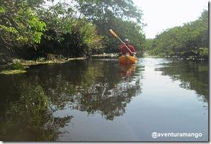 Caiaque no Rio Catu 2