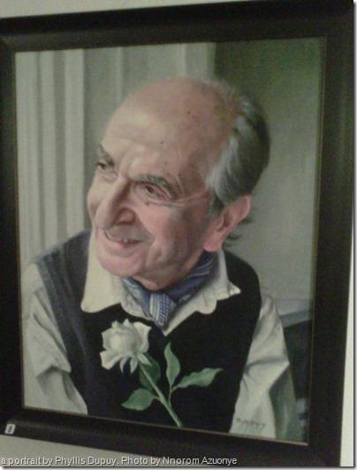 portrait by Phyllis Dupuy