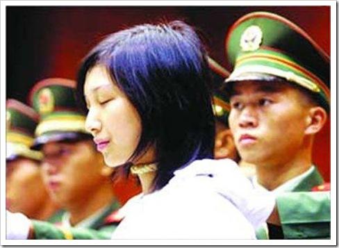 02 wanita cantik di hukum mati  di cina - herlan blog