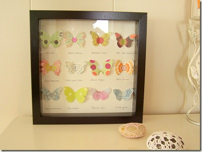 Cozy Things: Paper butterfly collection