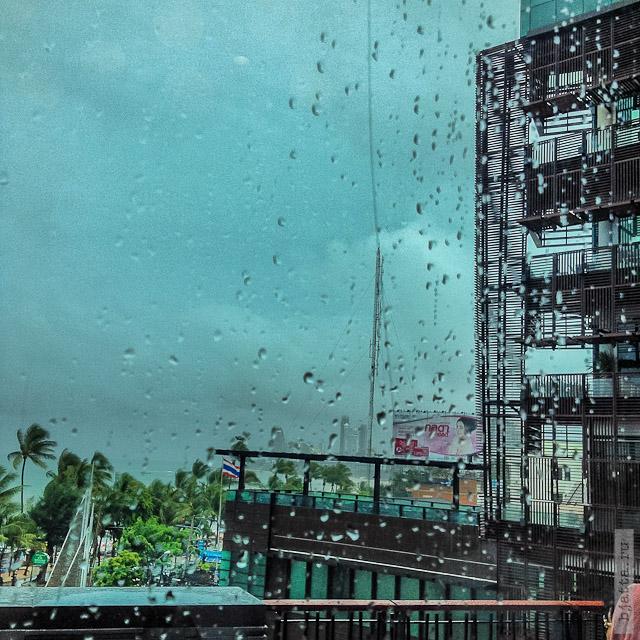 18. Сезон дождей. Таиланд 2555. Thailand