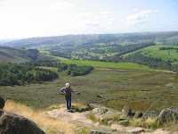 Admiring the view - Baslow Edge Derbyshire