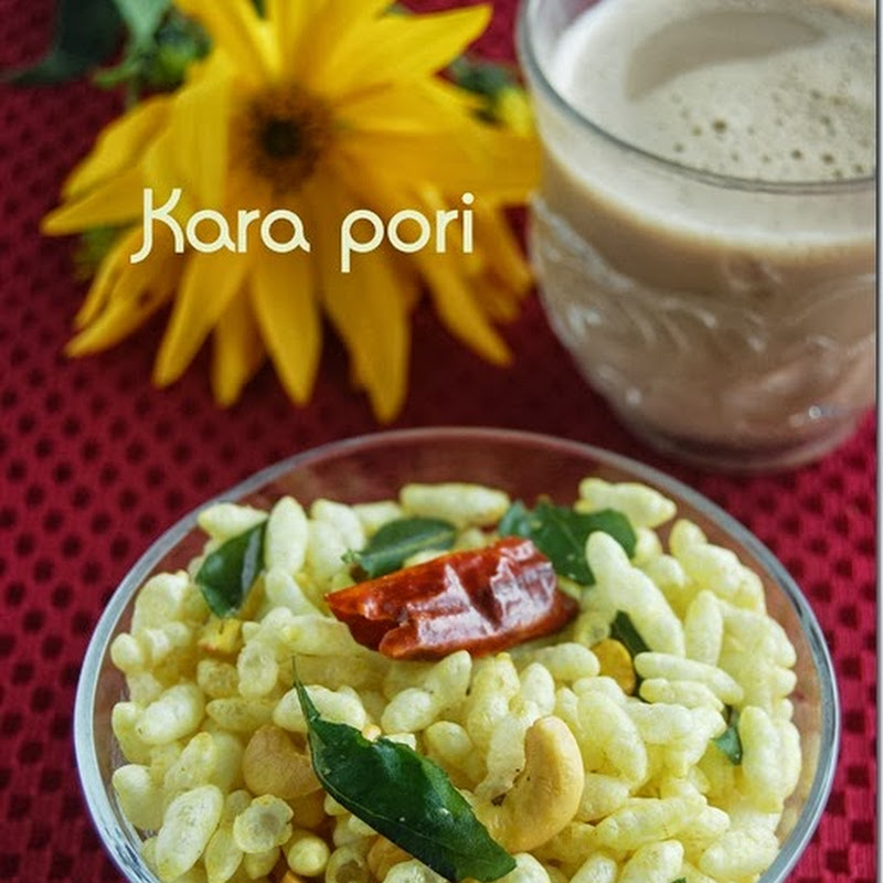 Puffed rice mixture / Kara pori