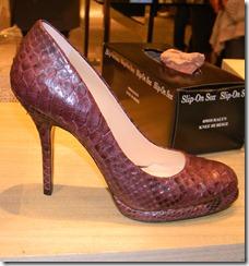 Alexandre Birman Snakeskin Pump ShoesNBooze