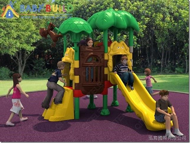 BabyBuild 兒童組合遊具示意圖