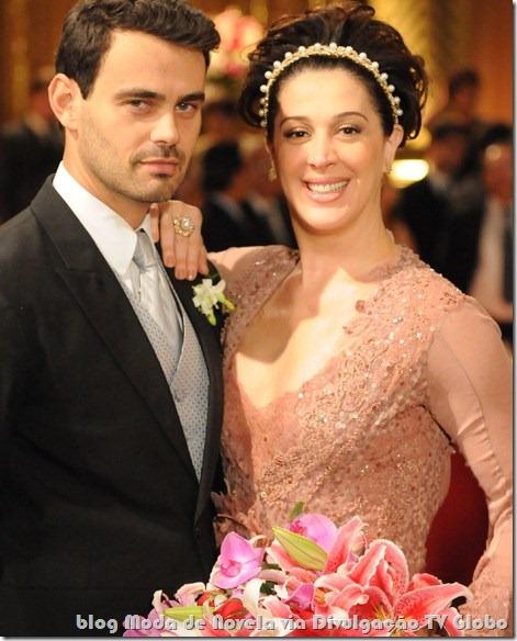 moda da novela a favorita - vestido de noiva da donatela