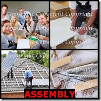 ASSEMBLY- 4 Pics 1 Word Answers 3 Letters