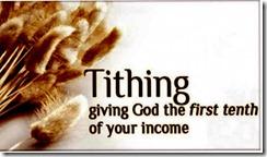 Persepuluhan Untuk Tuhan
