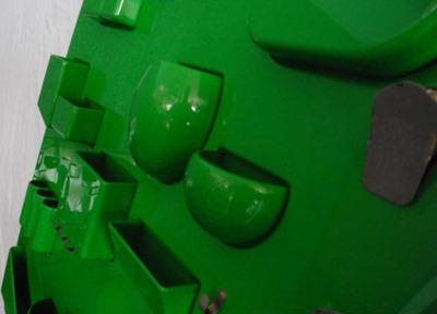 Dorothee Maurer-Becker UTEN.SILO I, green