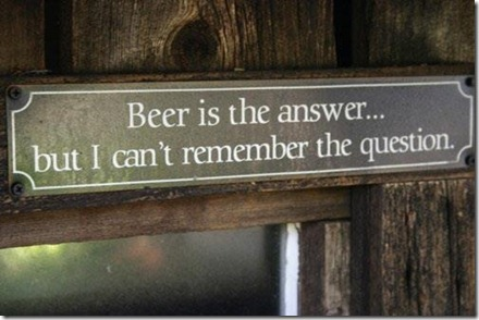 Beeris the answer