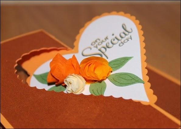 Hochzeit Glückwunschkarte Wedding Card Rose 02
