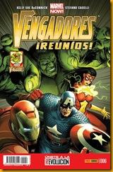 Vengadores Reunios 6