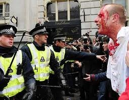 London riots EQUAL MONEY FOR ALL