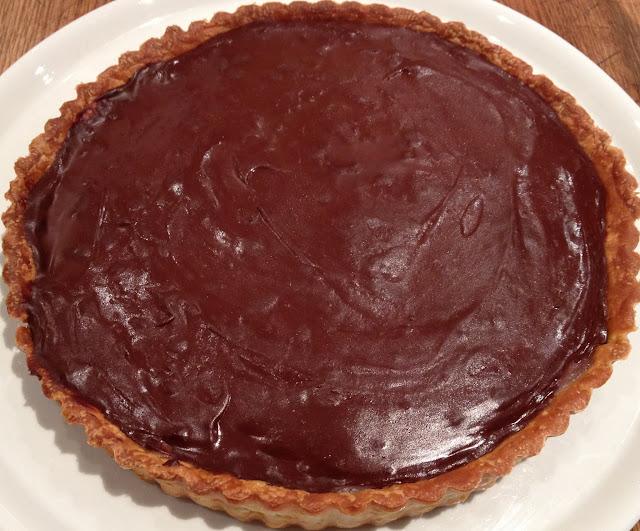 Gontran Cherrier's Tart au Chocolat 4 29 12