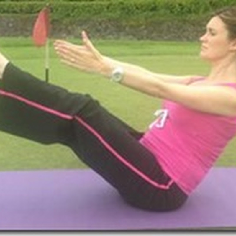 Anne Marie Kennedy- Yoga For Golf: Ship Shape Core With Boat Pose