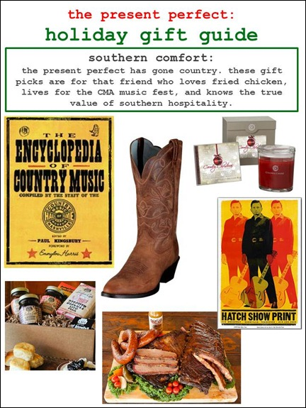 2011.12.09 - Holiday Gift Guide - Southern Comfort