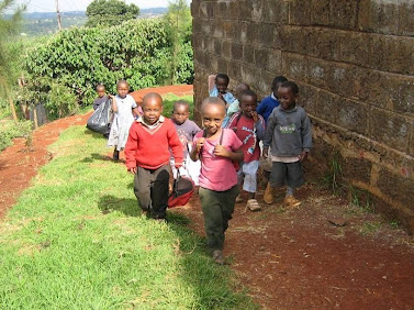 Nairobi, Kenya: Orphans of HIV/AIDS photographed by Marguerite Hanley during her internship in Kenya. Photo credit: Marguerite Hanley