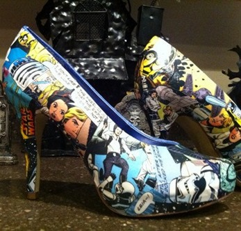 Star Wars High Heels from FeedMyCraftAddiction on Etsy 2
