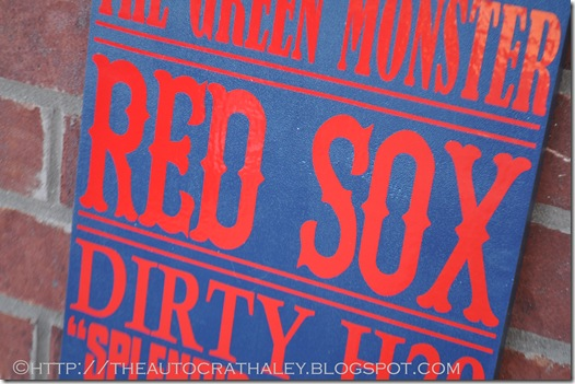 SUBWAY ART RED SOX (5)