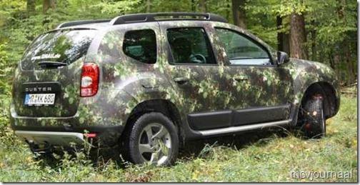 Dacia Duster speciale jagersuitvoering 02