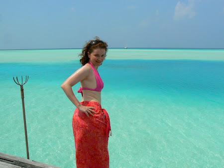 Hotel Anantara Dhigu Maldives: Infinity Pool
