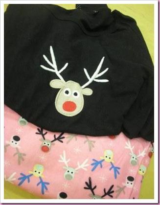 Primark reindeer pyjamas