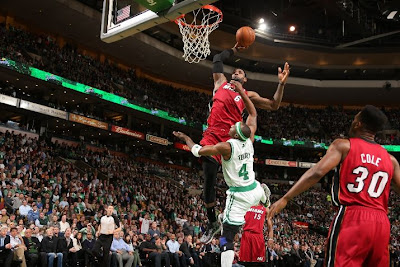 lebron james nba 130318 mia at bos 15 LeBron Burries Celtics as Miami Heat Extend Winning Streak to 23