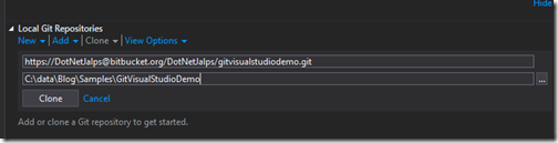 clone-repository-bitbucket-visual-studio