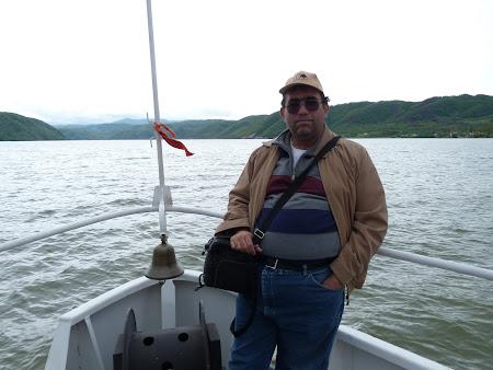 Cazane Mehedinti: pe vas, pe Dunare