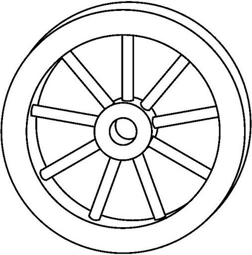 wheel coloring
