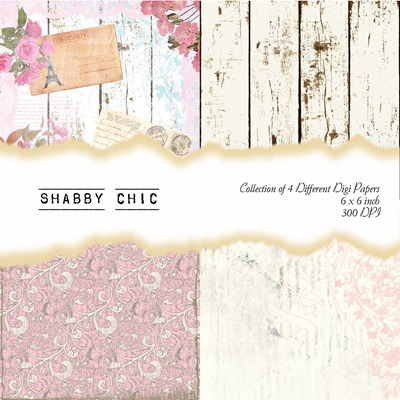 Shabby Chic Front Sheet