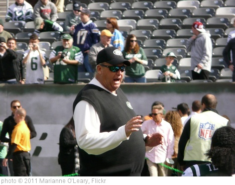 'New York Jets Head Coach Rex Ryan' photo (c) 2011, Marianne O'Leary - license: http://creativecommons.org/licenses/by/2.0/
