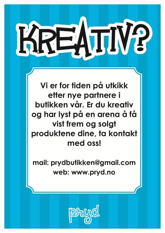 Kreativ plakat a5