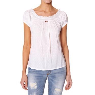 #793A Jennie T-blouse lite chalk