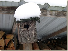 rustic nestbox