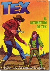P00010 - Tex  El ultimatun de Tex
