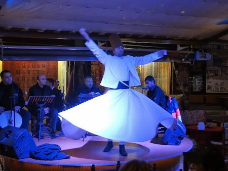 Dans sufi la Istanbul