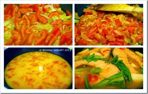 how to cook sinigang salmon