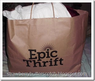 Epic Thrift shopping bag