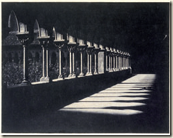 Gustave Le Gray et Auguste Mestral , Galerie du cloître de Moissac, 1851