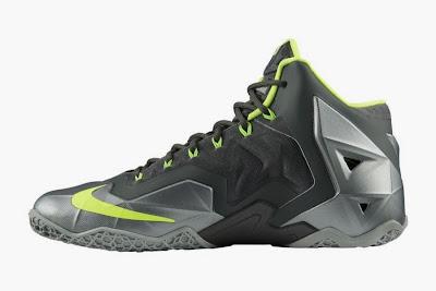 nike lebron 11 gr dunkman 3 03 Release Reminder: Nike LeBron 11 Mica Green Dunkman