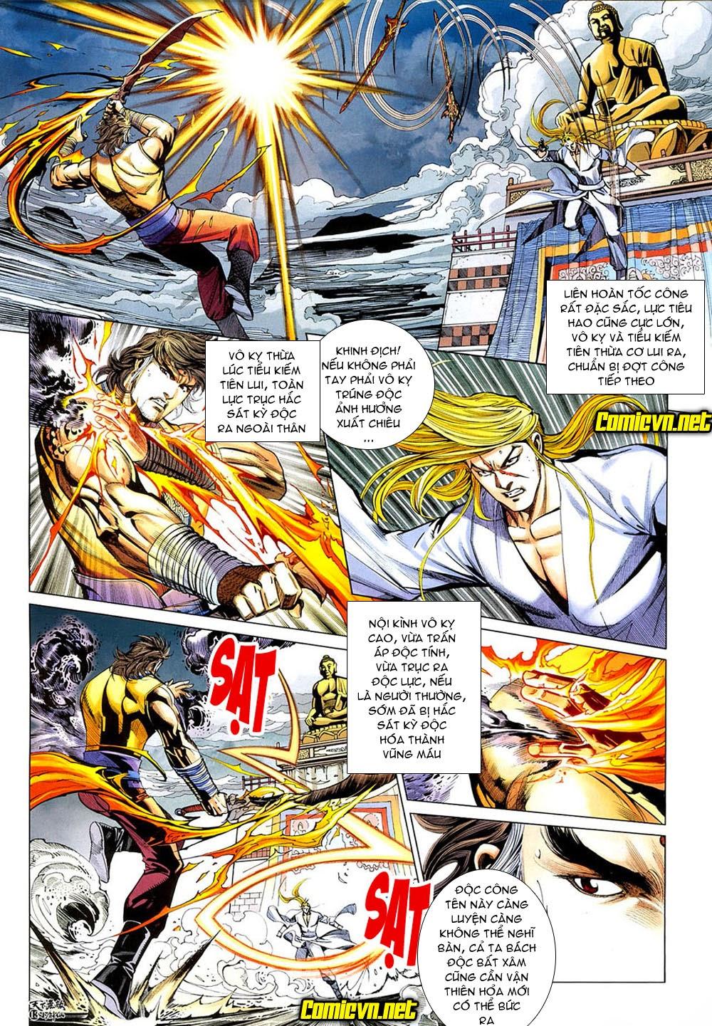 Thiên Hạ Vô Địch Tiểu Kiếm Tiên chap 31 - Trang 14