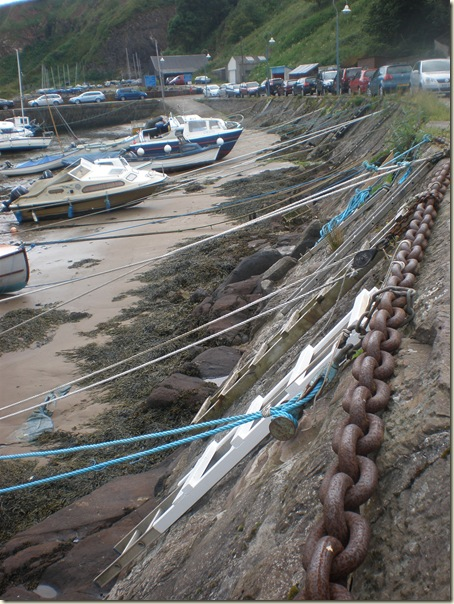 Stonehaven Harbour Boat Ropes