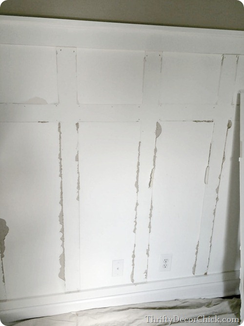 removing wall trim