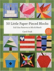 50 little paperpieced blocks