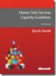 Master Data Services Capacity Guidelines