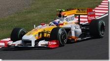 Grosjean nelle prove libere del gran premio del Giappone 2009