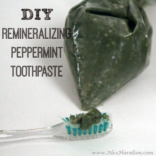 DIY Remineralizing Peppermint Herbal Toothpaste21