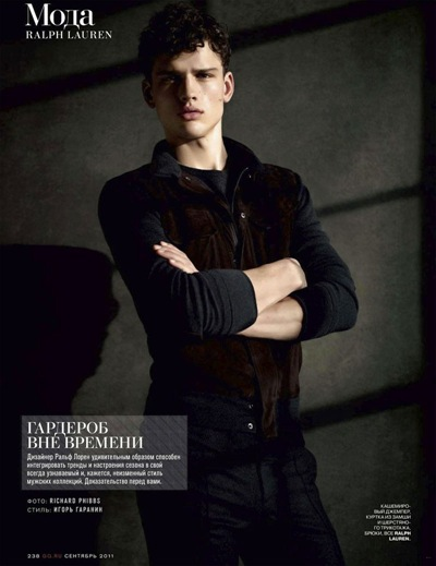 Simon Nessman by Richard Phibbs for GQ Russia, September 2011