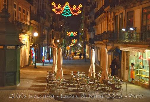 Glória Ishizaka - Luzes de Natal 2013 - Porto 6 Rua das Flores
